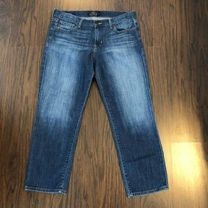Lucky Brand Sweet Crop Ankle Denim Jeans Size 10